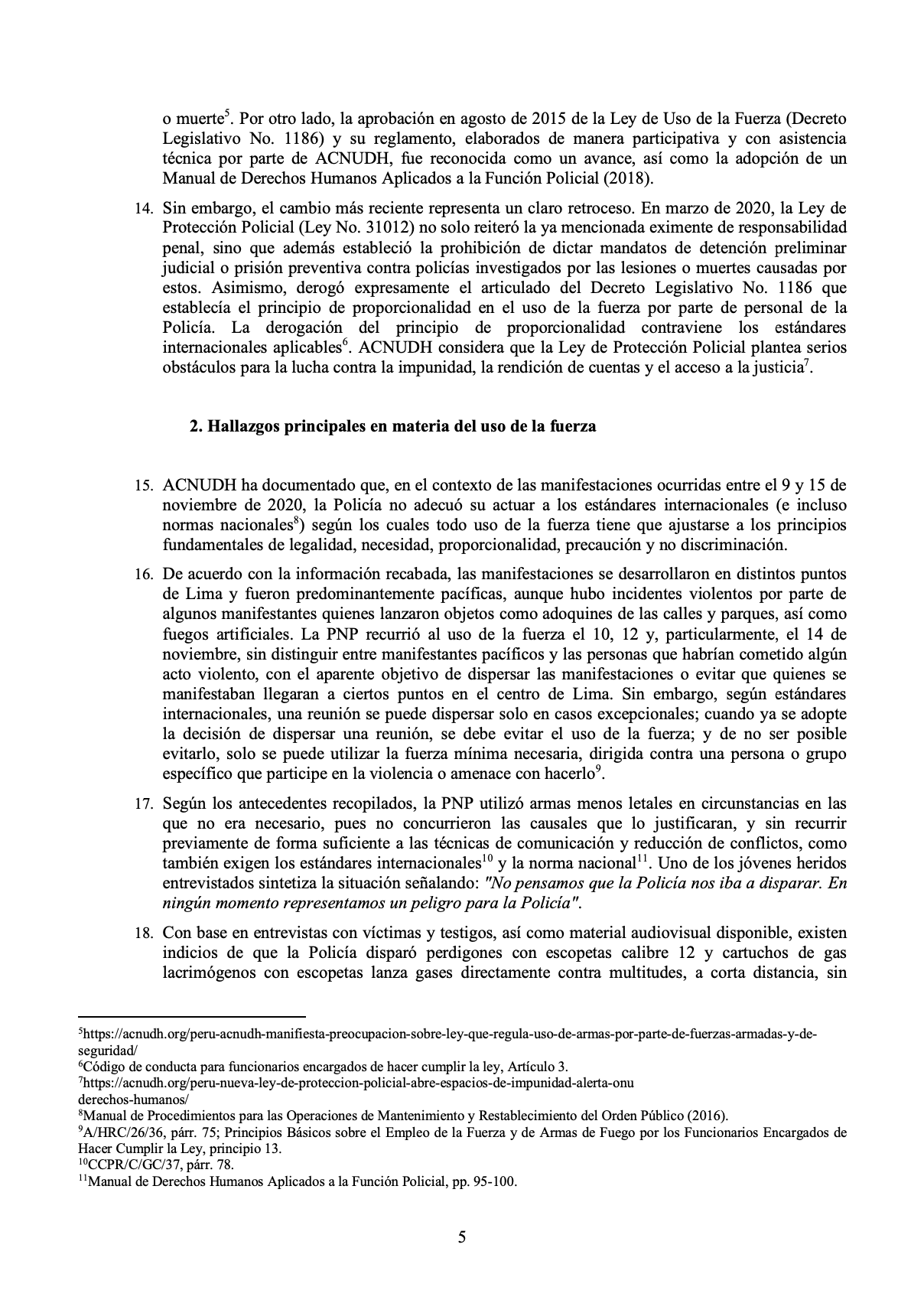 documento ONU